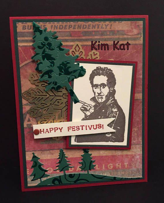 Happy Festivus Card Pop Up Jerry Seinfeld 3D Funny ...