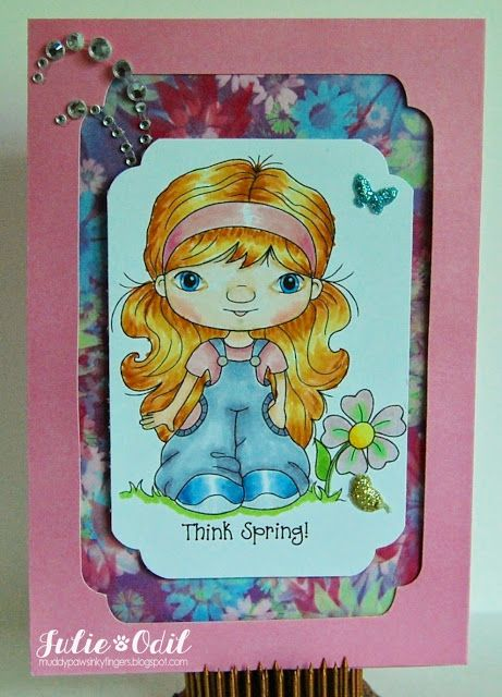 Think Spring! for Crafty Sentiments Designs