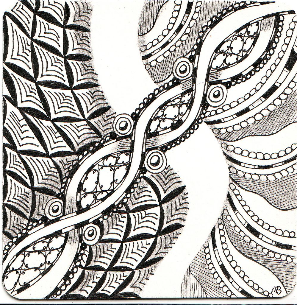 Zentangle, or Zendoodle, is the new drawing craze that everyone's talking about!  Whether you're a doodler or an experienced artist, you can Zentangle!
