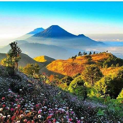 Dieng Wonosobo Central Java Pemandangan Fotografi Alam Indonesia
