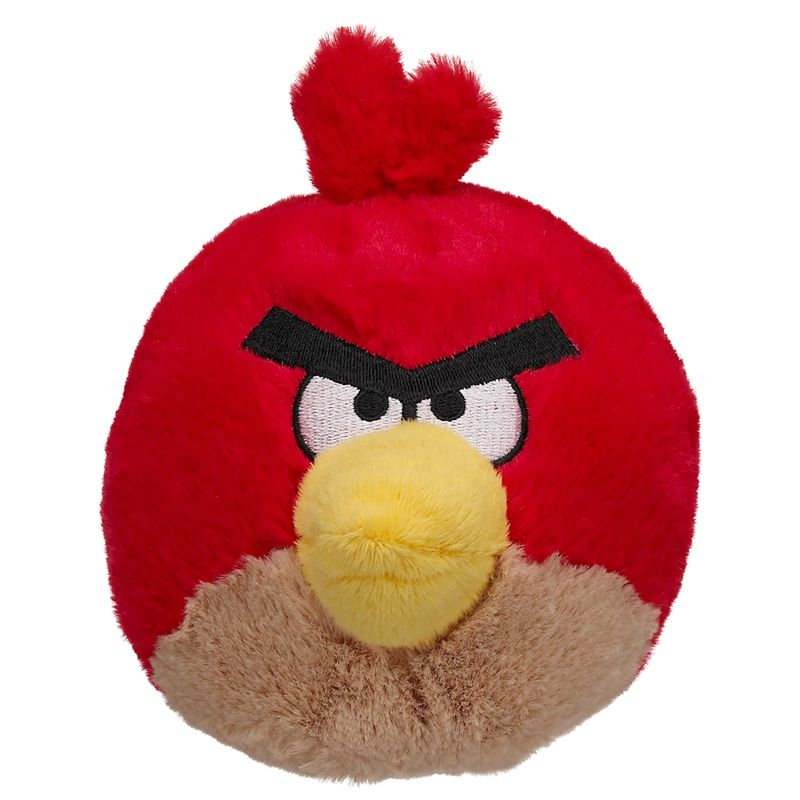 5 in. Angry Birds Red - Build-A-Bear Workshop US