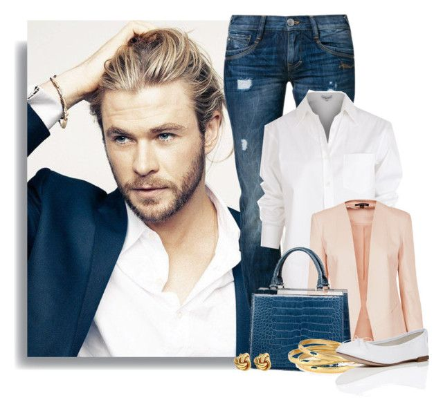 """""""Chris Hemsworth"""" by ameve ❤ liked on Polyvore"""