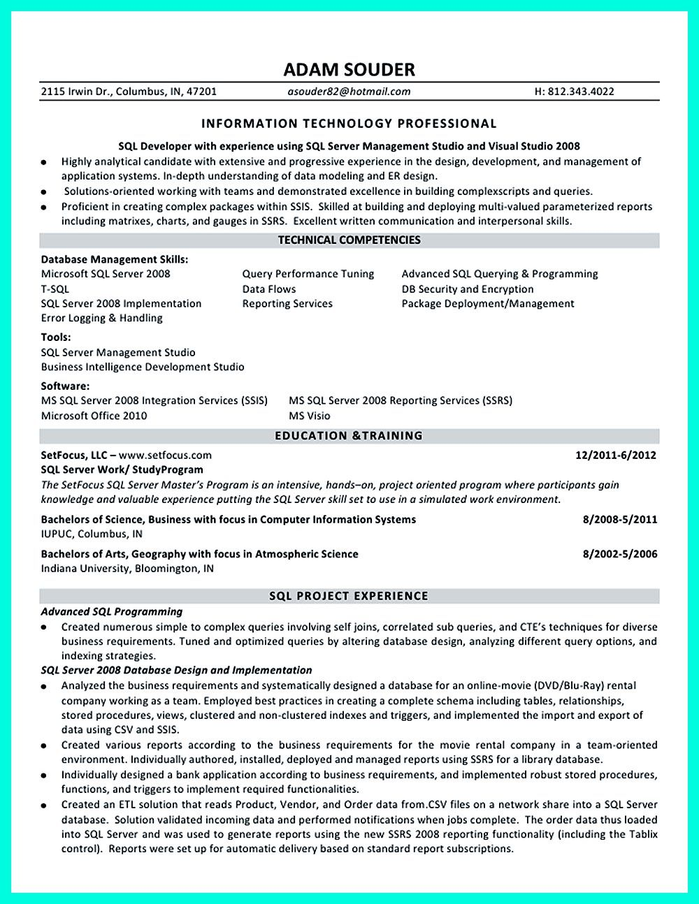 database developer resumes template database developer resumes