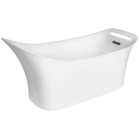 """Axor Urquiola 34.13"""" H x 34.12"""" W Bathtub"""