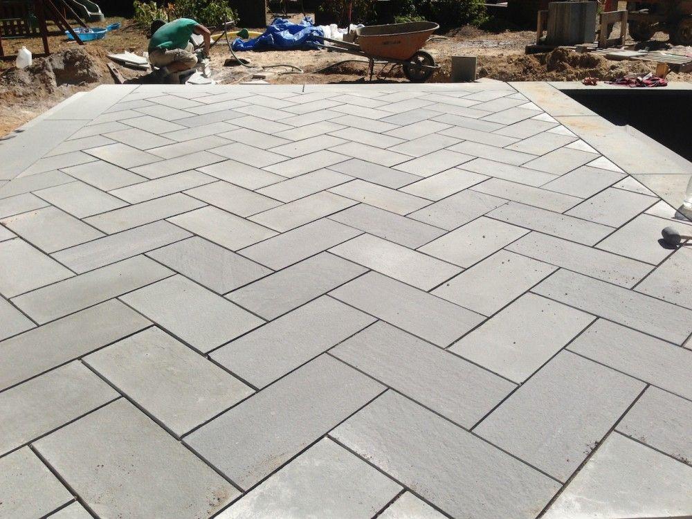 bluestone patio stone patio designs