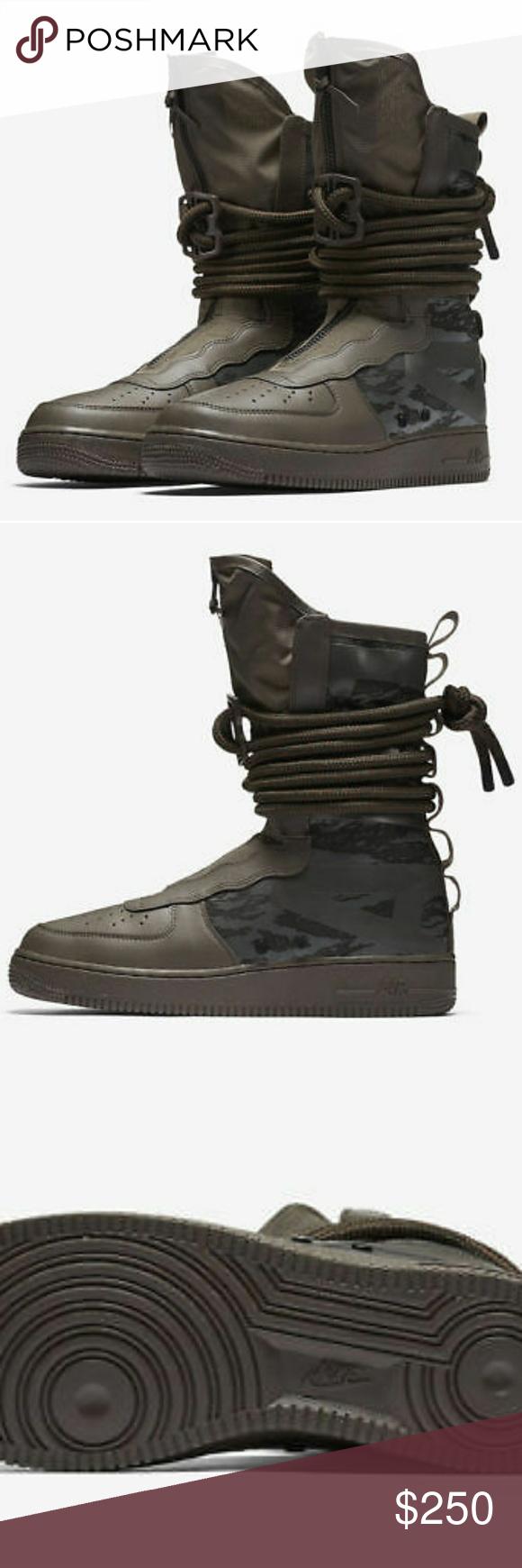 Nike SF AF1 Hi Ridgerock AA1128-203 Size 11 BRAND NEW IN BOX Nike SF AF1 Hi  Ridgerock AA1128-203 Men Special Field SFAF1 Sequoia Black SZ 11 Nike Shoes  ... e93327a407
