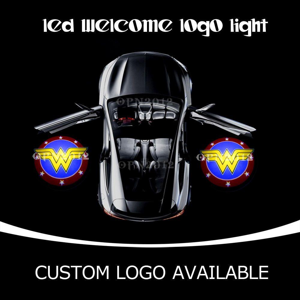 2pcs Car Door Gobo Cree Led Projector Wonder Woman Logo Laser Ghost Shadow Light Ebay Motors Parts Accessories Car Truc Led Logo Lighting Logo Cree Led