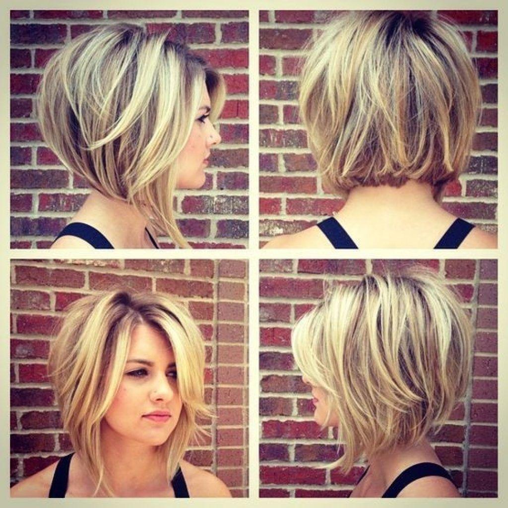 Cute updated Bob Haircut Blonde highlights | Hair styles 2017, Short hair  styles, Thick hair styles