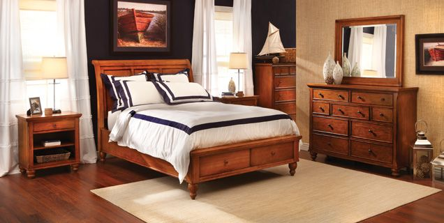 Bedroom Expressions: Oxford 4 Pc. Queen Group : B4-AHOXSQ   What up ...