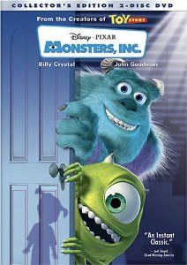 Amazon Com Monsters Inc Two Disc Collectors Edition Billy Crystal John Goodman Mary Gibbs Steve Buscemi James Kid Movies Animated Movies Kids Movies