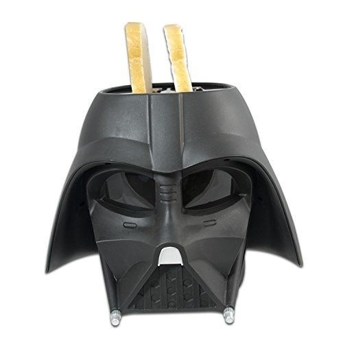 Star Wars Darth Vader 2 Slice Toaster Black Brand