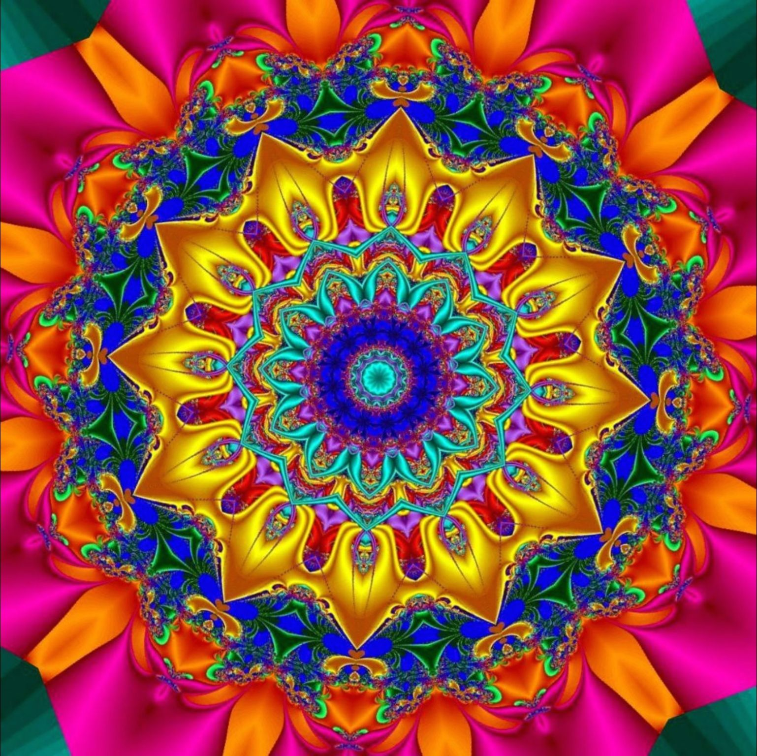 Color art kaleidoscope - Colors