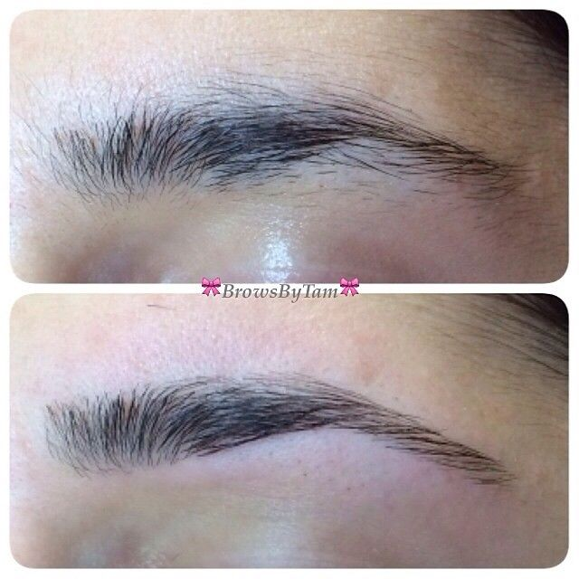 Major Brow Transformation Browsbytam Threading Brows