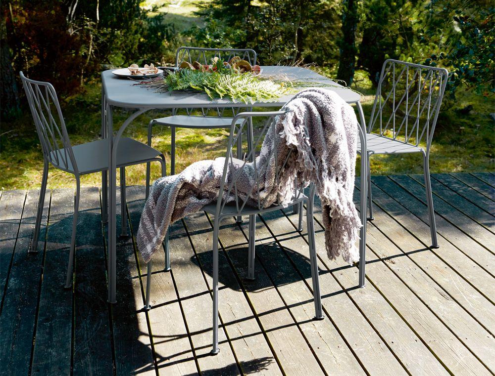 Les tables carrées Fermob - Mobilier de jardin | Metal ...