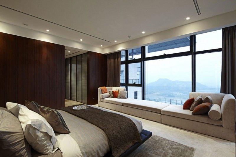 Amazing Duplex Penthouse In China By Kokaistudios Quartos