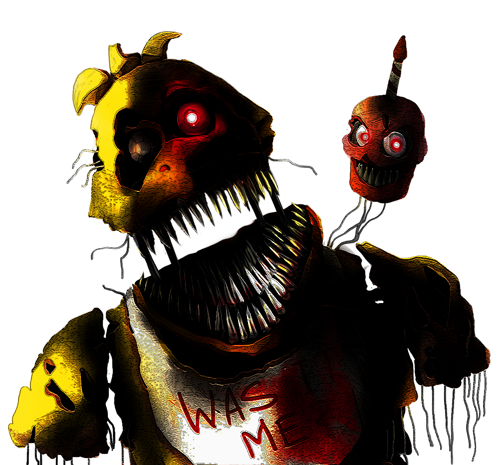 nightmare chica by shootersp deviantart com on deviantart five