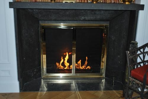 119 Fireplace Glass Doors Traditional Fireplace Fireplace Gallery