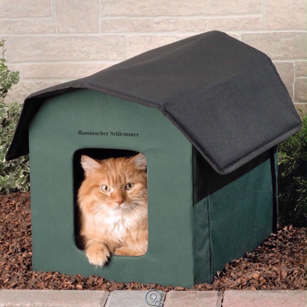 The Only Outdoor Heated Cat Shelter w/ Removable 20Watt