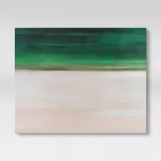 Shop Target For Modern Wall Art You Will Love At Great Low Prices Free 2 Day Shipping On Most Items Or Same Day Pick Up In Wall Canvas Pink Sky Green Artwork