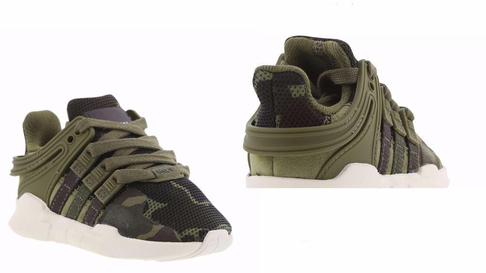 khaki adidas trainers eqt