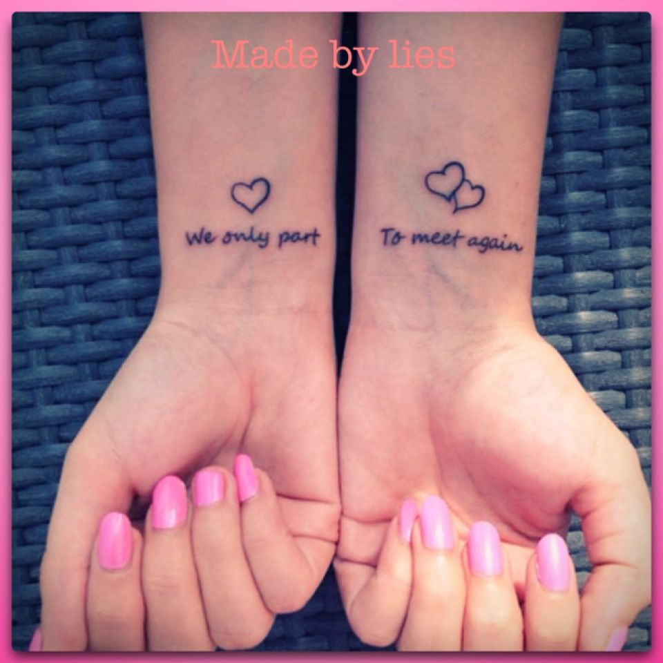 My New Memory Tattoo For You Mom Miss You We Only Part To Meet Again Rip Tattoos For Mom Mommy Tattoos Small Tattoos