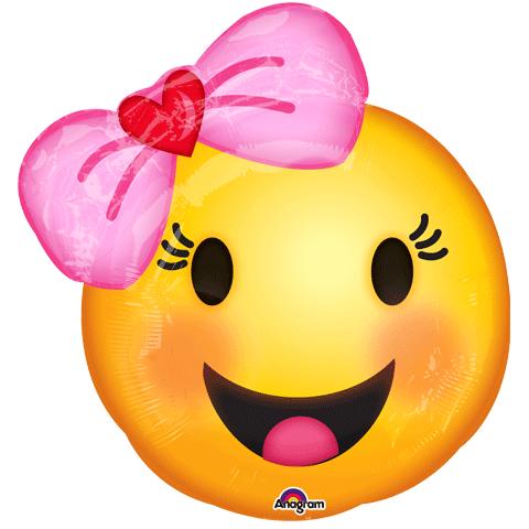 Image Result For Emoji Mylar Balloons Foil Balloons Happy Emoticon