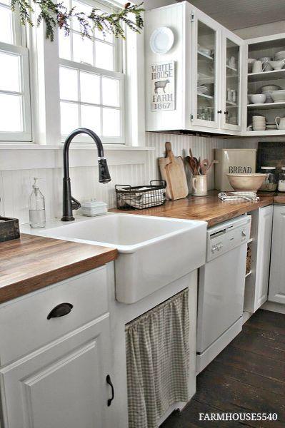 farmhouse kitchen decor ideas the caretaker s cottage rh pinterest com