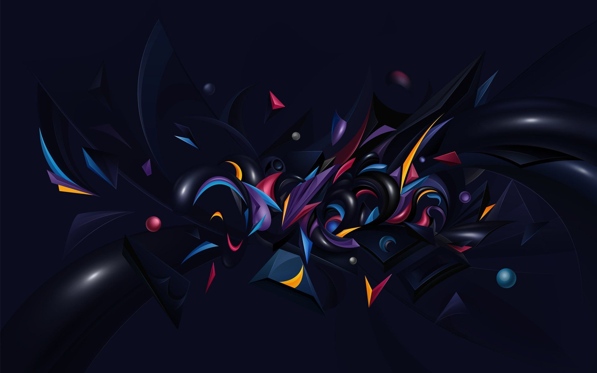 Our abstract wallpaper are very smooth from design