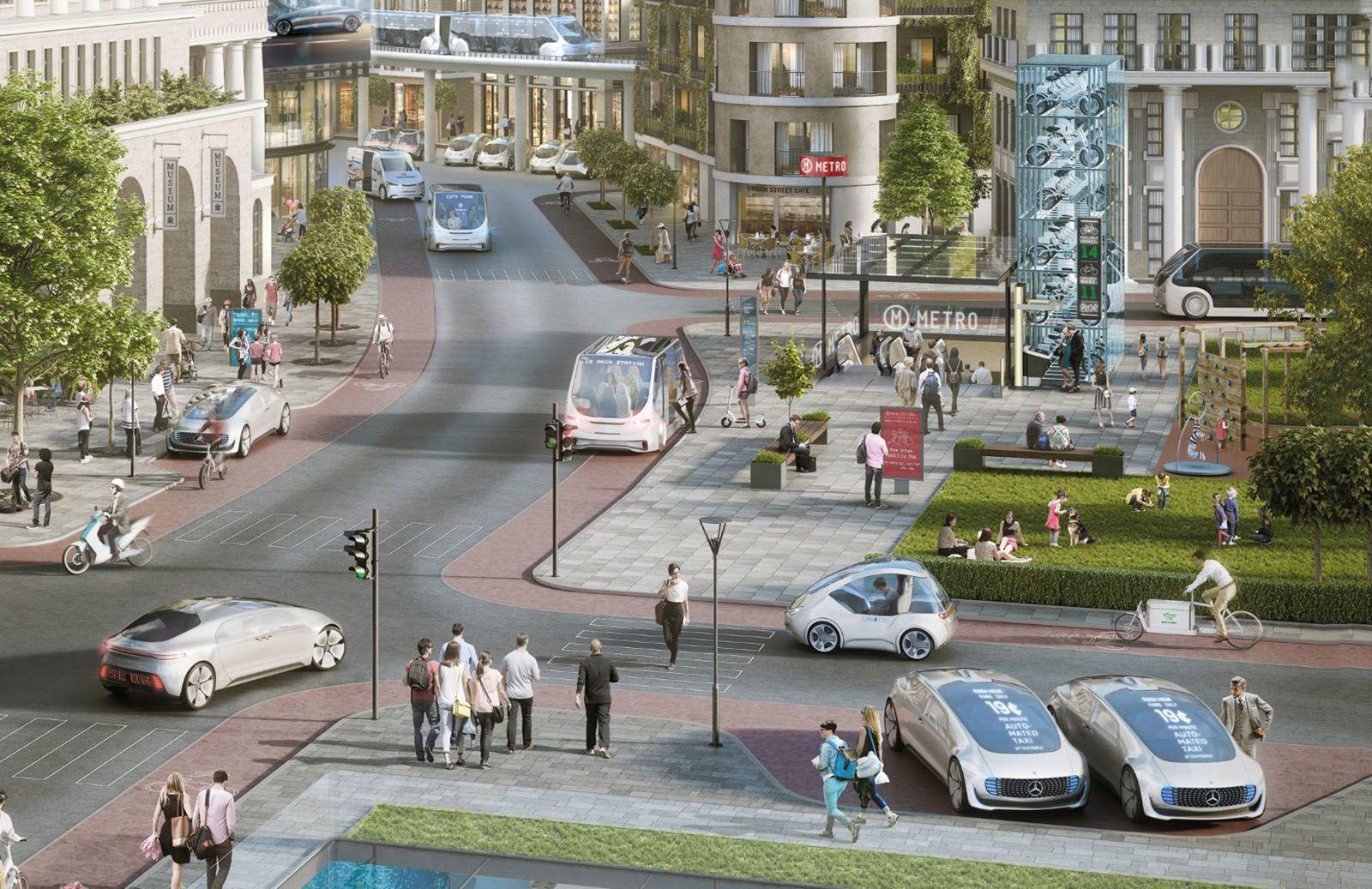 Daimler testet mit Bosch autonome Taxis in den nächsten Monaten - Engadget Deutschland