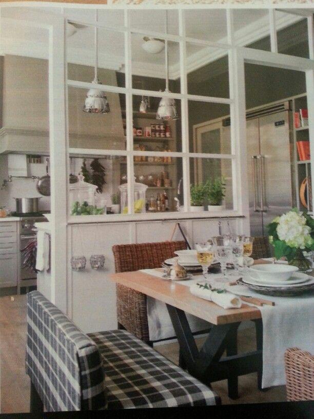 separacion para usar entre la cocina y la mesa para comer rev nuevo estilo