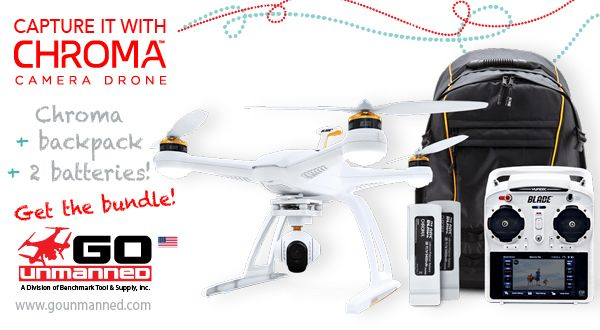 Horizon Chroma Drone 4K, 2 batt, Backpack Bundle | Specials