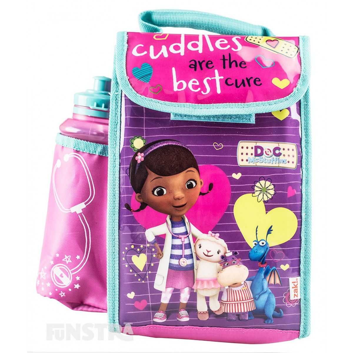 Doc McStuffins Lunch Bag with Bottle from Funstra Toys