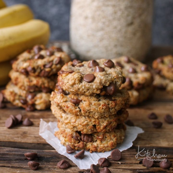 "Photo of Kitchen Sanctuary on Instagram: ""I think my 12 year old is after my job! . This is her making my Banana Oat Cookies ❤️❤️ Super easy and a great idea for breakfast. . Search… """