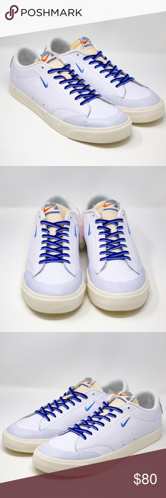 Nike Sb Zoom Blazer Low Xt Qs Quartersnacks 11 5 Nike Sb Zoom Blazer Low Xt Quartersnacks Qs Skate Board Shoes Mpn Sty Nike Sb Clothes Design University Blue