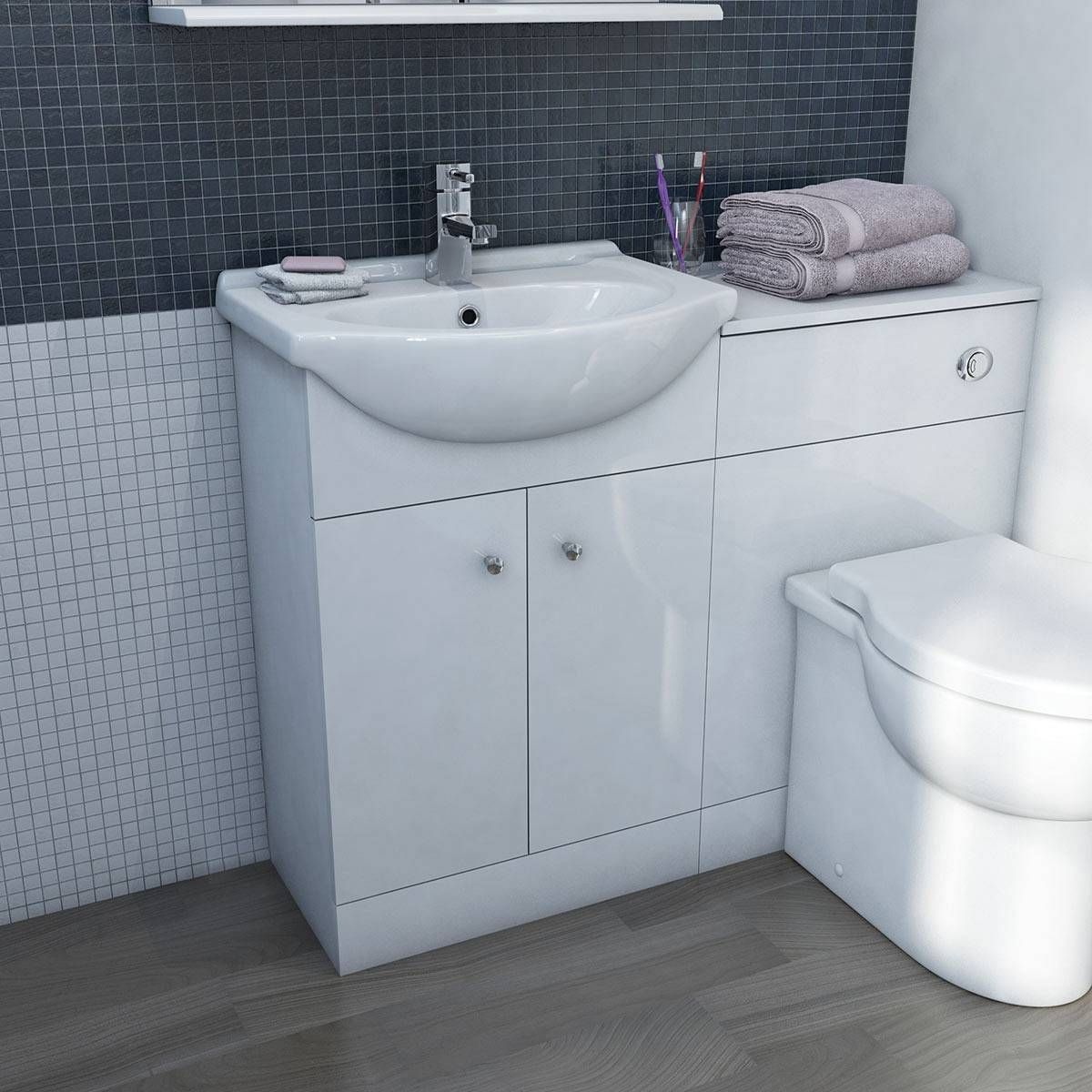 Toilet And Basin Units For Small Wetrooms