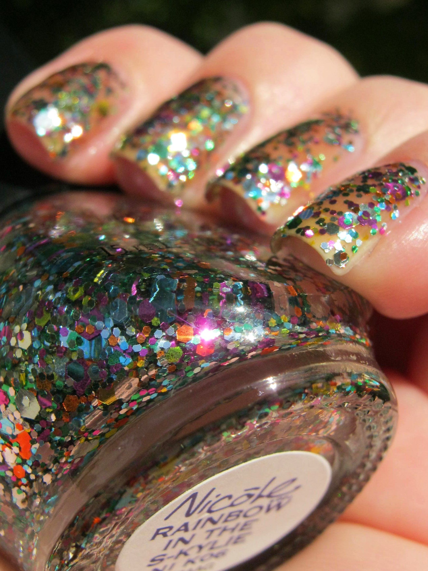 """Nicole by OPI -- """"Rainbow in the S-Kylie"""" (Have)"""
