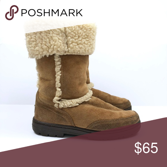 e6be21434ef Ugg] Sundance Waterproof Chestnut Boots Waterproof suede and ...