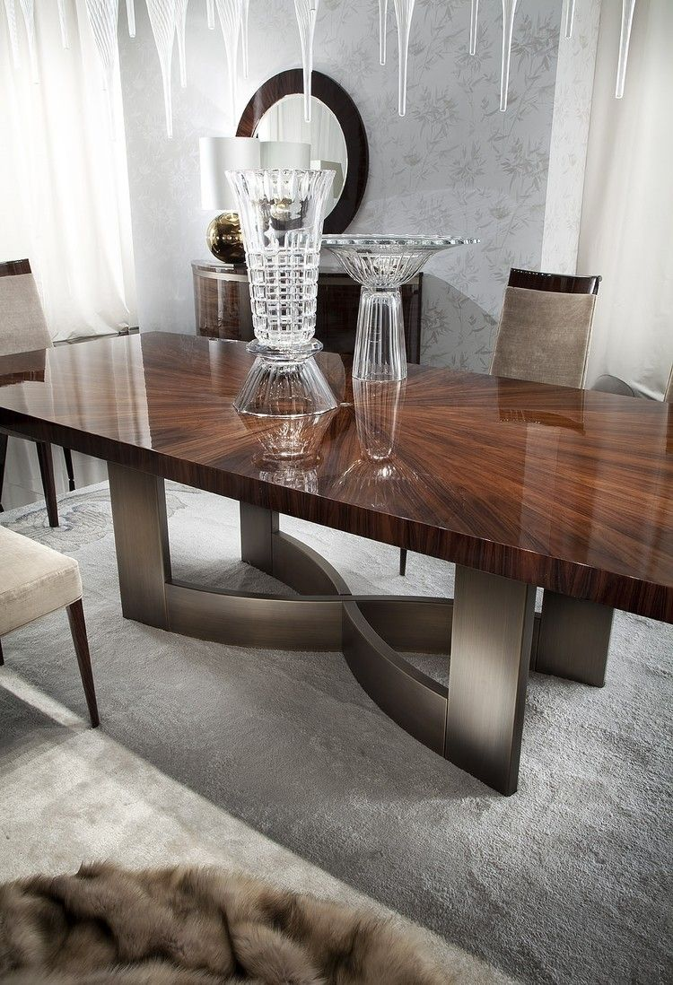 Contemporary Italian Dining Room Furniture Mesmerizing Giorgio Coliseum Fixed Dining Table  Muebles  Pinterest Inspiration