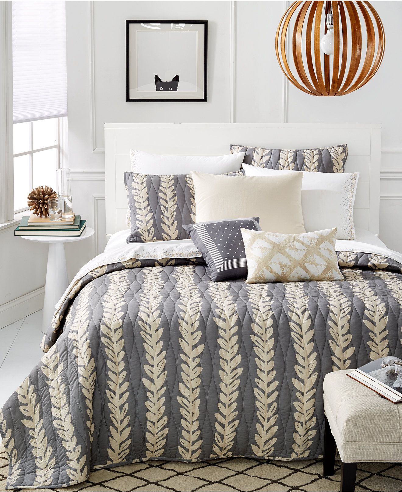 Martha Stewart Whim Collection Vine Time Quilts - Quilts ... : twin quilts and bedspreads - Adamdwight.com