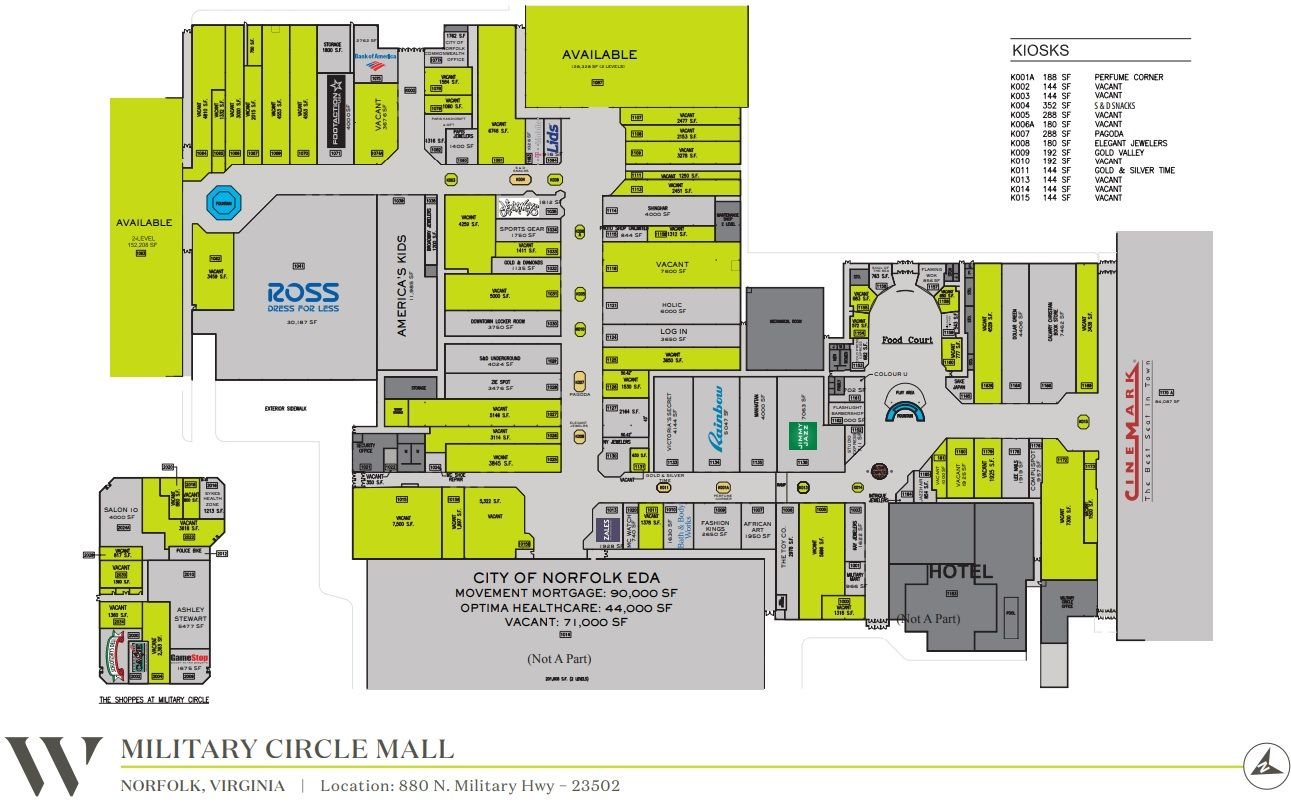 Military Circle Mall Shopping Plan Mall Mall Stores Military