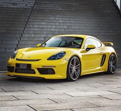 Porsche 718 Cayman S by Techart | Cool cars | Pinterest