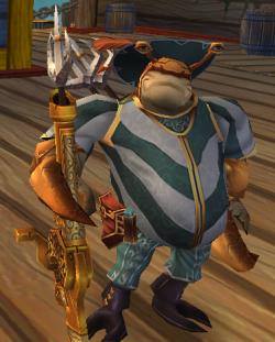 Pirate 101 - Louis LeBisque - quest reward companion for