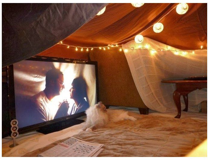 5 Steps To Building Your Own Epic Blanket Fort #indoor #tent #ideas #romantic Ad...