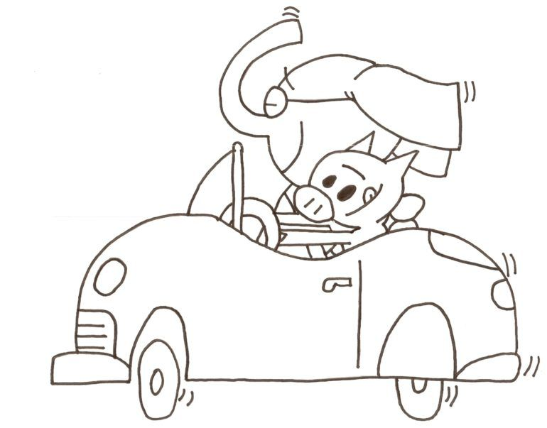 Science Elephant And Piggie Coloring Pages Az Coloring Pages Piggie And Elephant Elephant Coloring Page Mo Willems