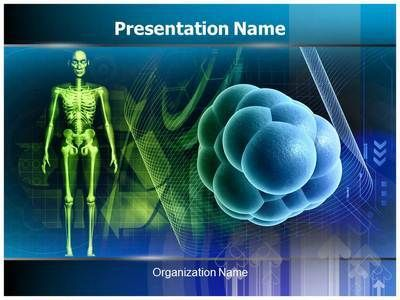 stem cells powerpoint presentation template is one of the best, Modern powerpoint