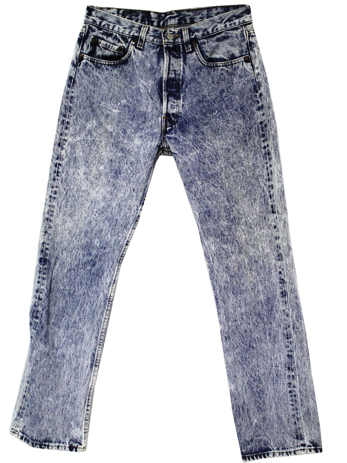 Stonewashed Jeans - an 80s fashion statement. | My youth | Pinterest