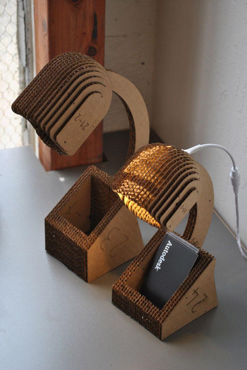 DIY 20 Creative Cardboard Lamp Ideas Cardboard design