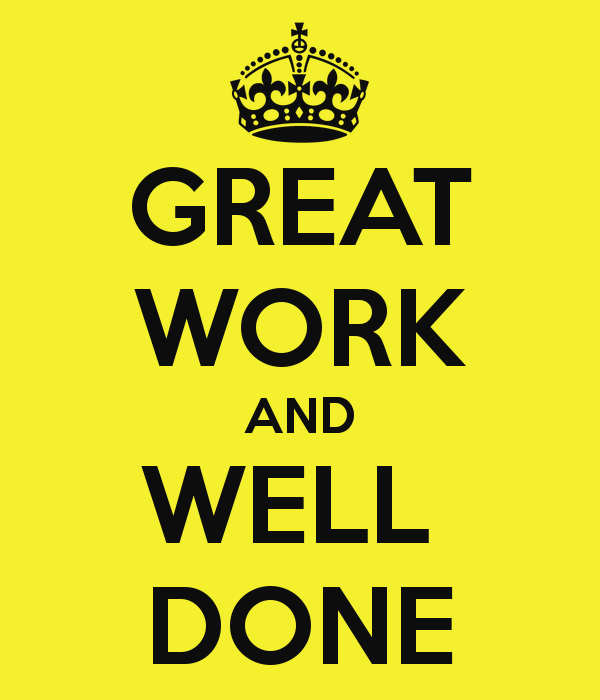 Good Work Done Quotes: Great-work-and-well-done Blog Post