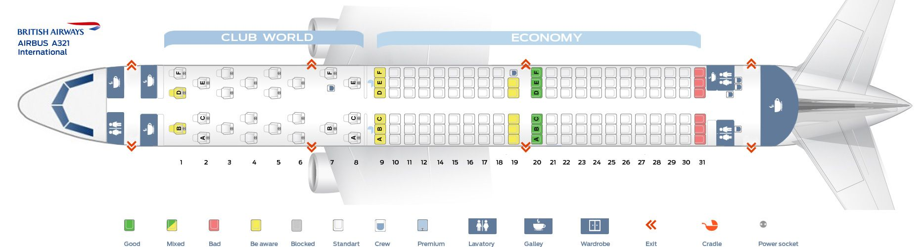 British Airways Fleet Airbus A321 200 Details And Pictures