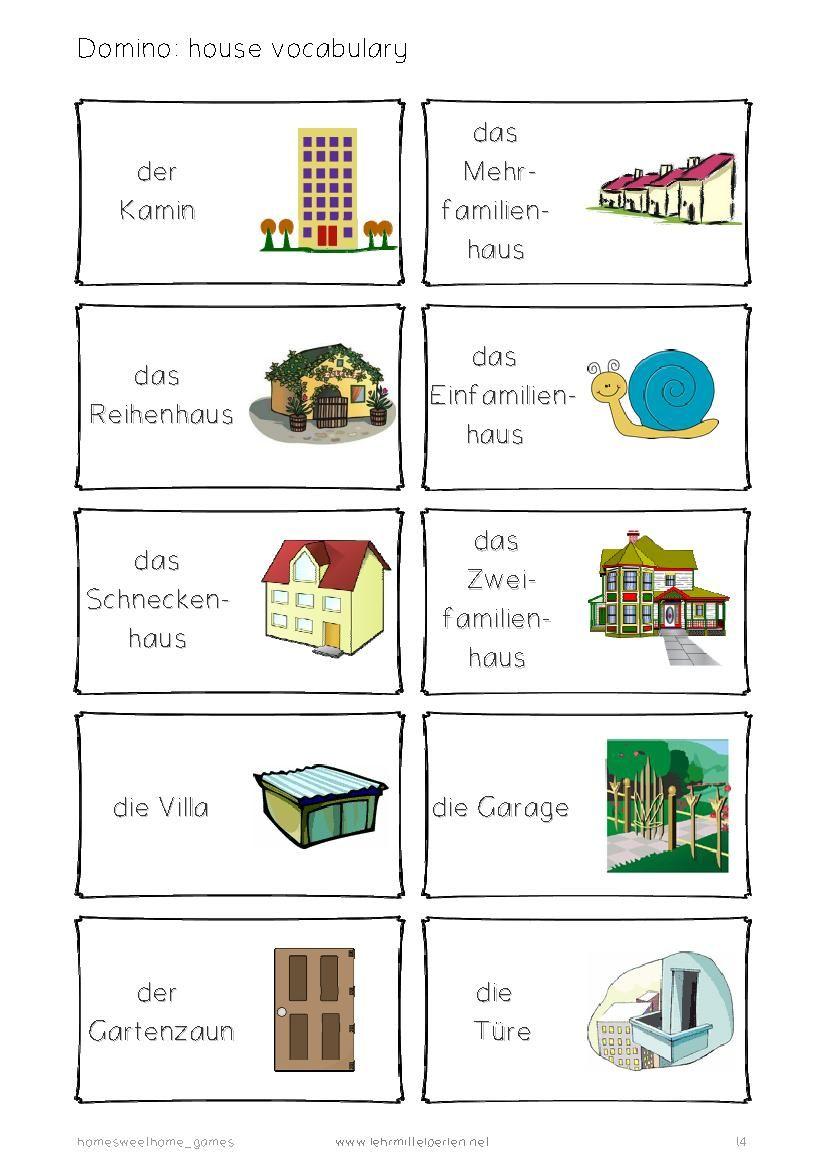 german words home sweet home deutsch deutsch deutsch wortschatz deutsch vokabeln. Black Bedroom Furniture Sets. Home Design Ideas